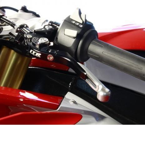 Leva de embrague extensible,regulable y plegable rojo [1]