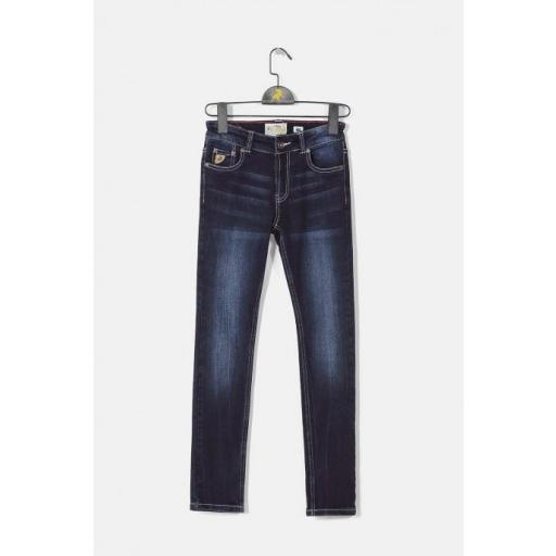 PANTALON DENIM SKINNY [0]