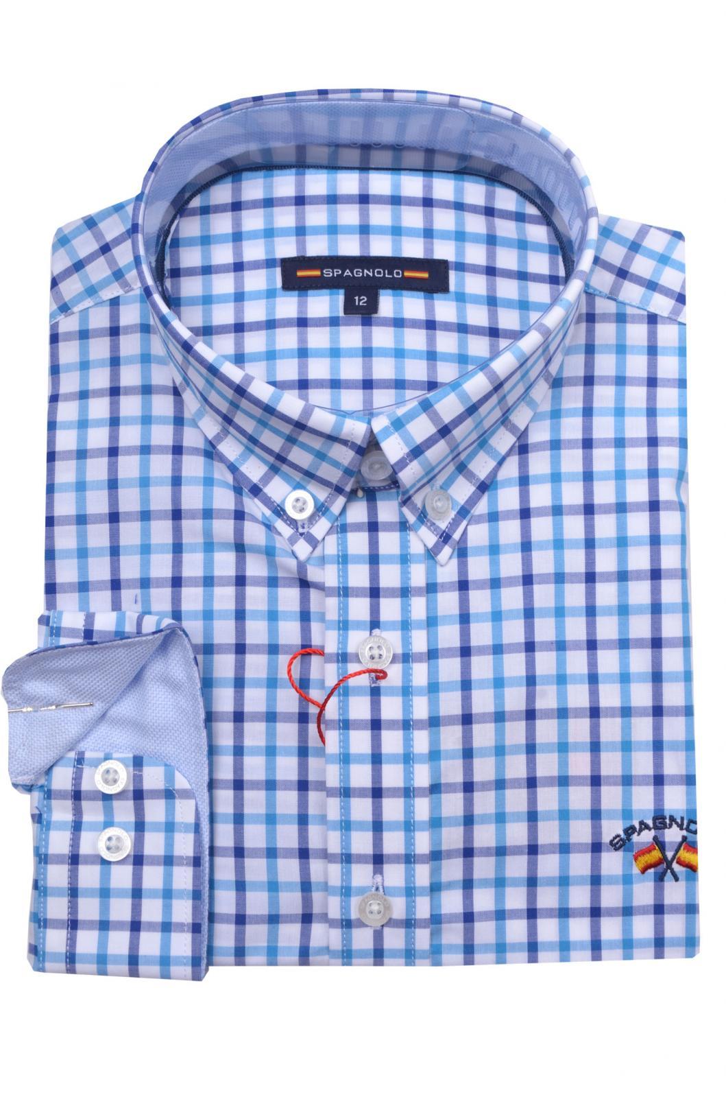 Camisa Popelin Alg. Cutaway 4099