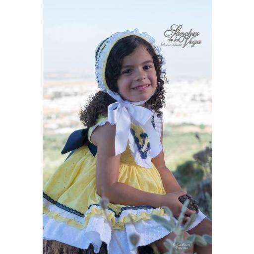 pinocho-vestido-talle bajo-sanchez de la vega-el cocherito lere-moda infantil-niña-guillena-sevilla