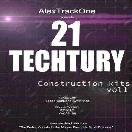 21 Techtury Vol 1-Samples Wav-