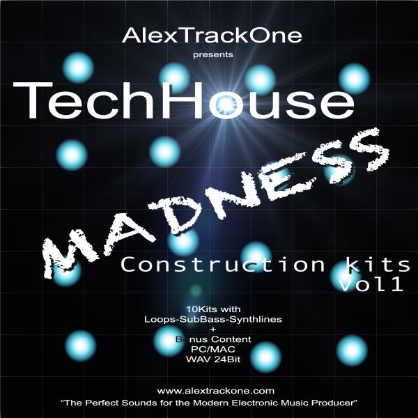 TechHouse MADNESS Ck Vol.1 -Samples WAV-