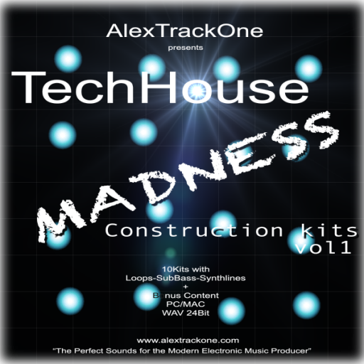 TechHouse MADNESS Ck Vol.1 -Samples WAV-
