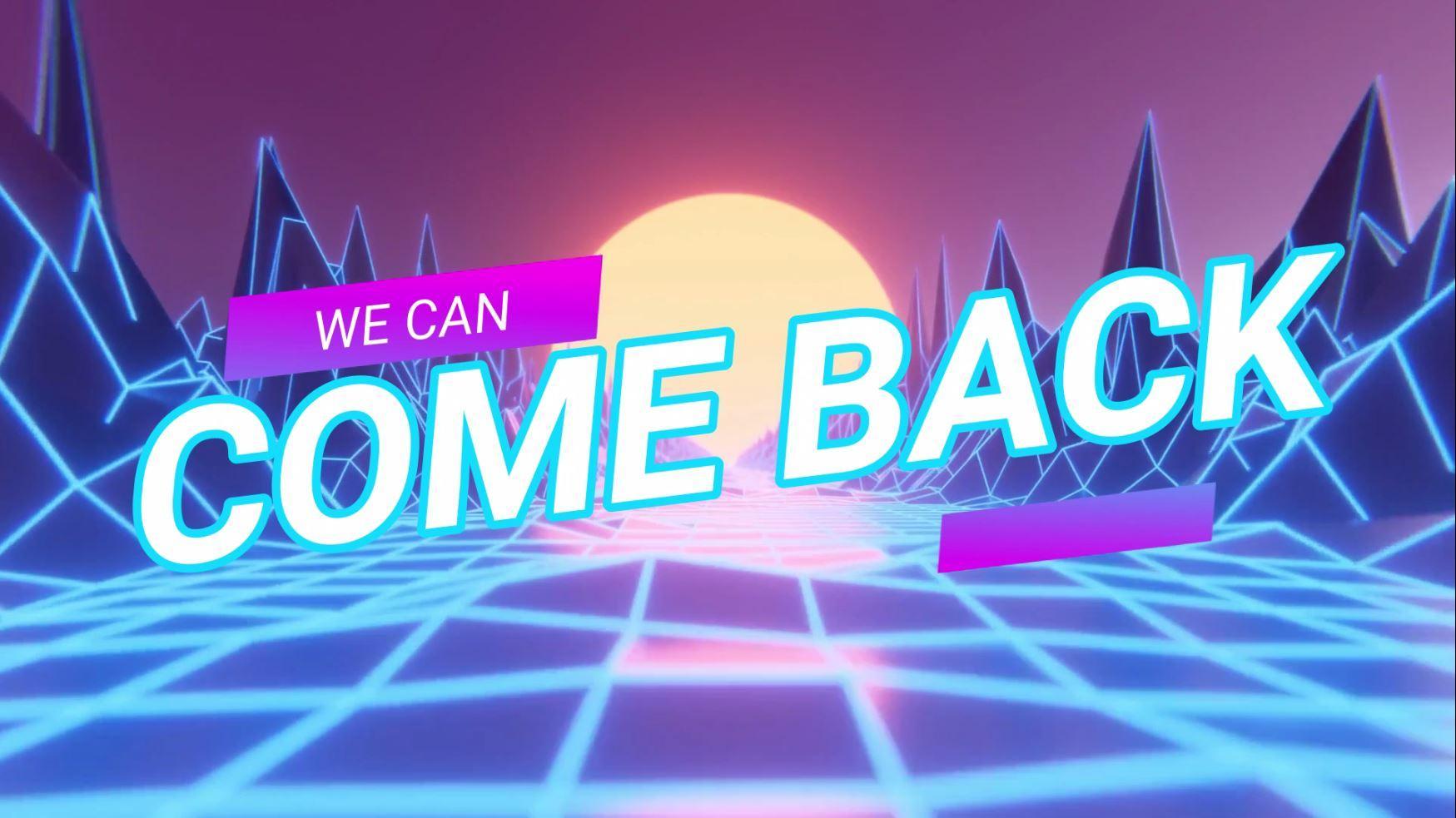 WE CAN COME BACK Original Mix