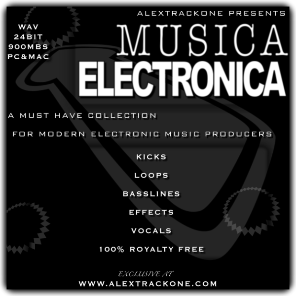 Música Electrónica Vol.1 -Samples WAV-