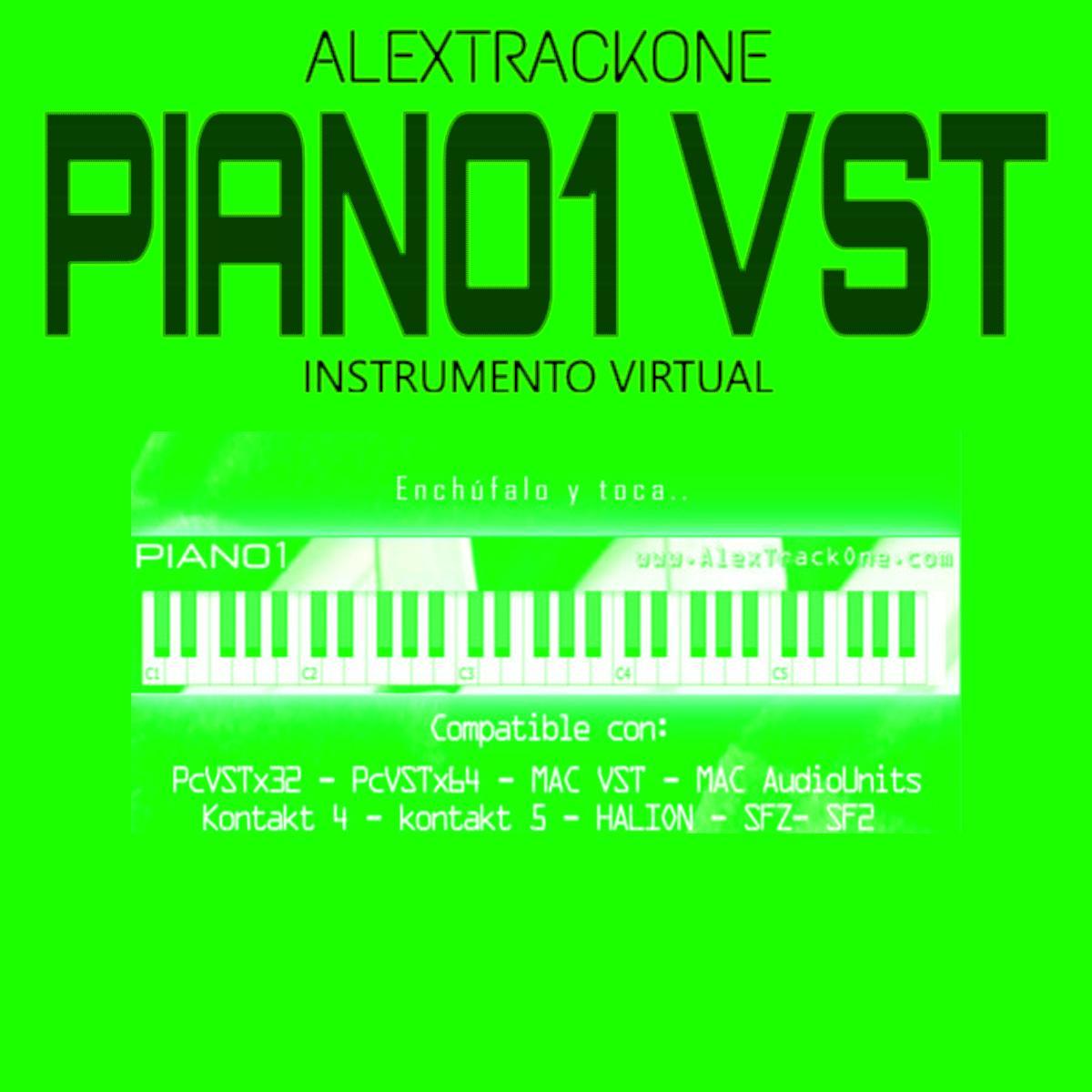 Piano1 VST - Instrumento Virtual PC y MAC