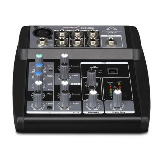 Wharfedale Pro Connect 502 Usb Mesa de Mezclas