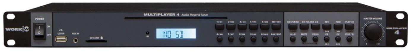 Work Multiplayer 4 Reproductor Cd/Usb/Sd/Am/Fm