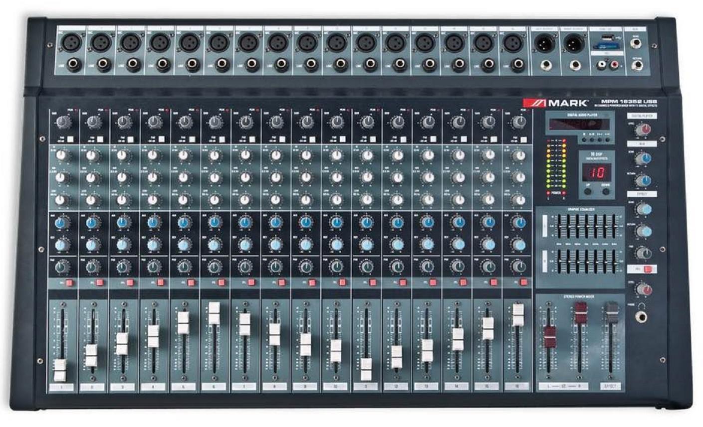 Mark Mpm 16352 Usb Bt Mezclador Amplificado