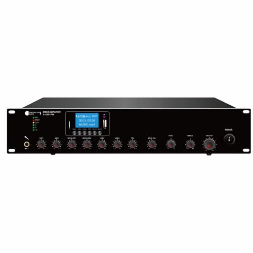 Contractor Audio As-5001Fm Amplificador/Mezclador para Megafonía 500W Mp3/FM/BlueTooth
