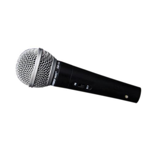 Ams Am 450 Micrófono Dinámico con Interruptor