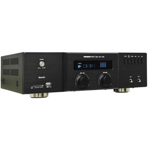 Ams Aml 100T Usb Amplificador/Mezclador para Instalación con BlueTooth [0]