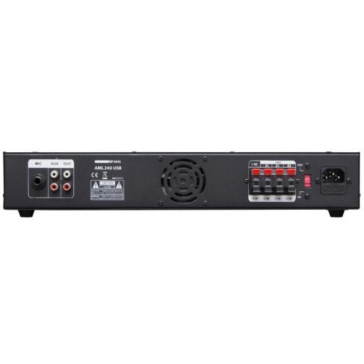 Ams Aml 240 Usb Amplificador/Mezclador para Instalación [1]