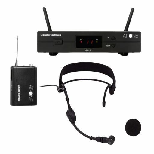 Audio Technica Atw-11H Sistema Inalámbrico con Micrófono de Cabeza [0]