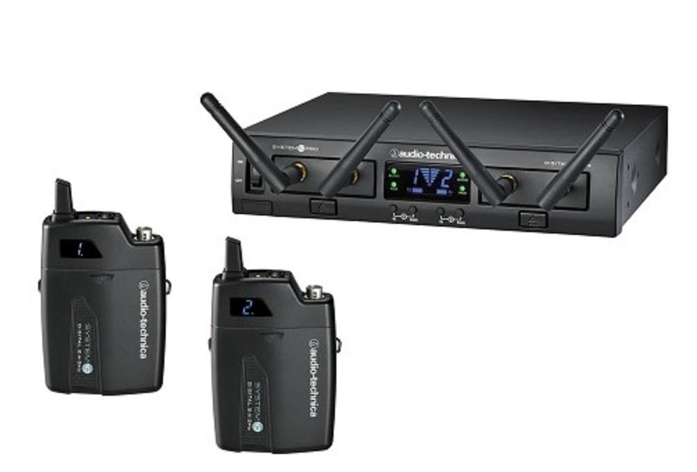 Audio-Technica Atw-1311 Sistema Inalámbrico Doble de Petaca