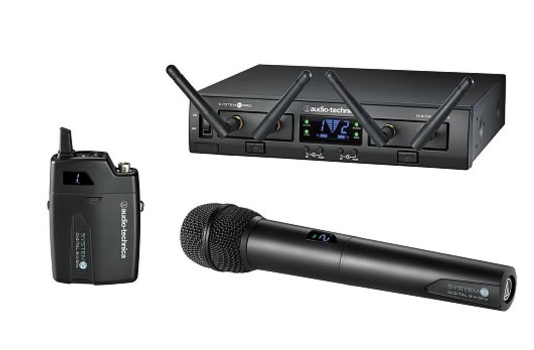 Audio-Technica Atw-1312 Sistema Inalámbrico Doble de Petaca/Mano