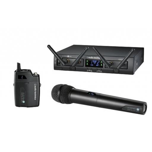 Audio-Technica Atw-1312 Sistema Inalámbrico Doble de Petaca/Mano [0]