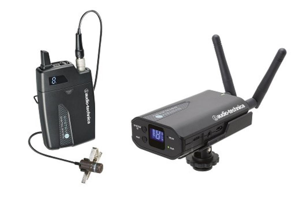 Audio-Technica Atw-1701/P1 Sistema Inalámbrico de Petaca para Cámara