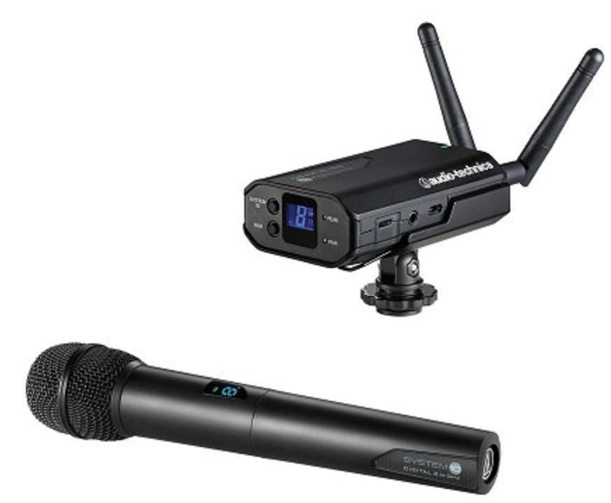 Audio-Technica Atw-1702 Sistema Inalámbrico de Mano para Cámara