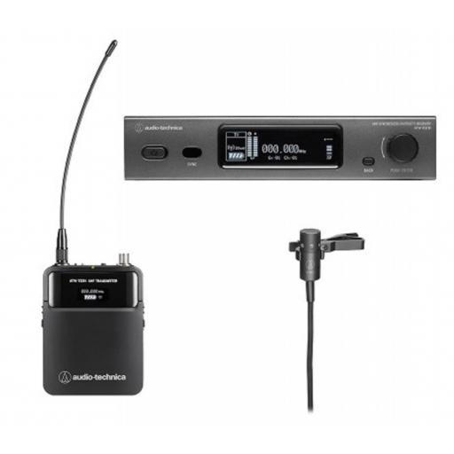 Audio-Technica Atw-3211/831 Sistema Inalámbrico de Petaca con micrófono Lavalier