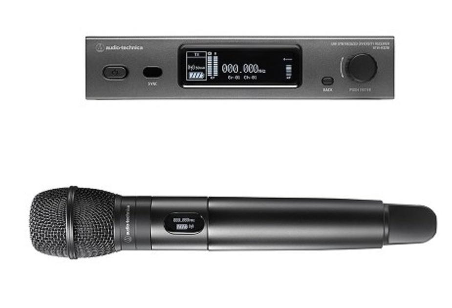 Audio-Technica Atw-3212/C710 Sistema Inalámbrico de Mano