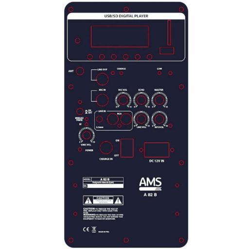Ams A 82 B Sistema de Audio Portátil [1]