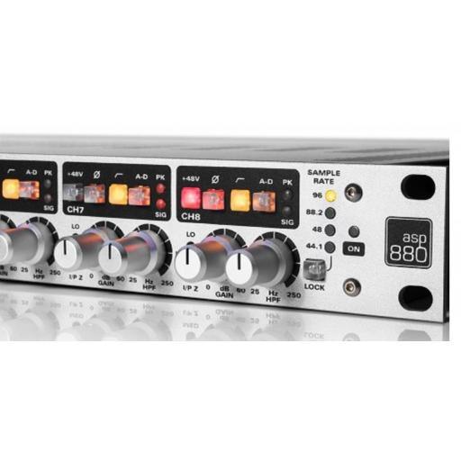 Audient Asp880 Preamplificador de Micrófono [3]