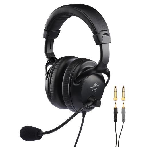 Monacor Bh-009 Auriculares con Micrófono [0]