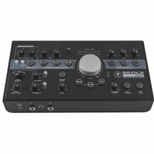 Mackie Big Knob Studio+ Controlador de Monitores de Estudio