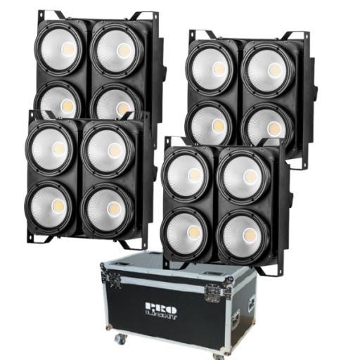 ProLIght Blinder 4 Pro Cegadora de Led (4 uds. + Flight Case)