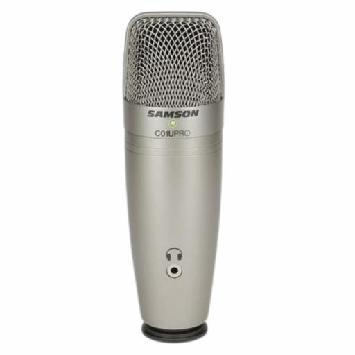 Samson C01U Pro Micrófono de Condensador