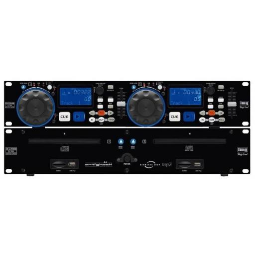 Stage Line Cd-230Usb Reproductor de Cd