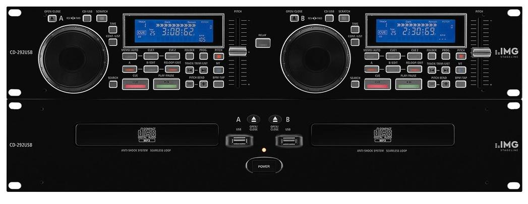 Stage Line Cd-292Usb Reproductor de Cd/Mp3