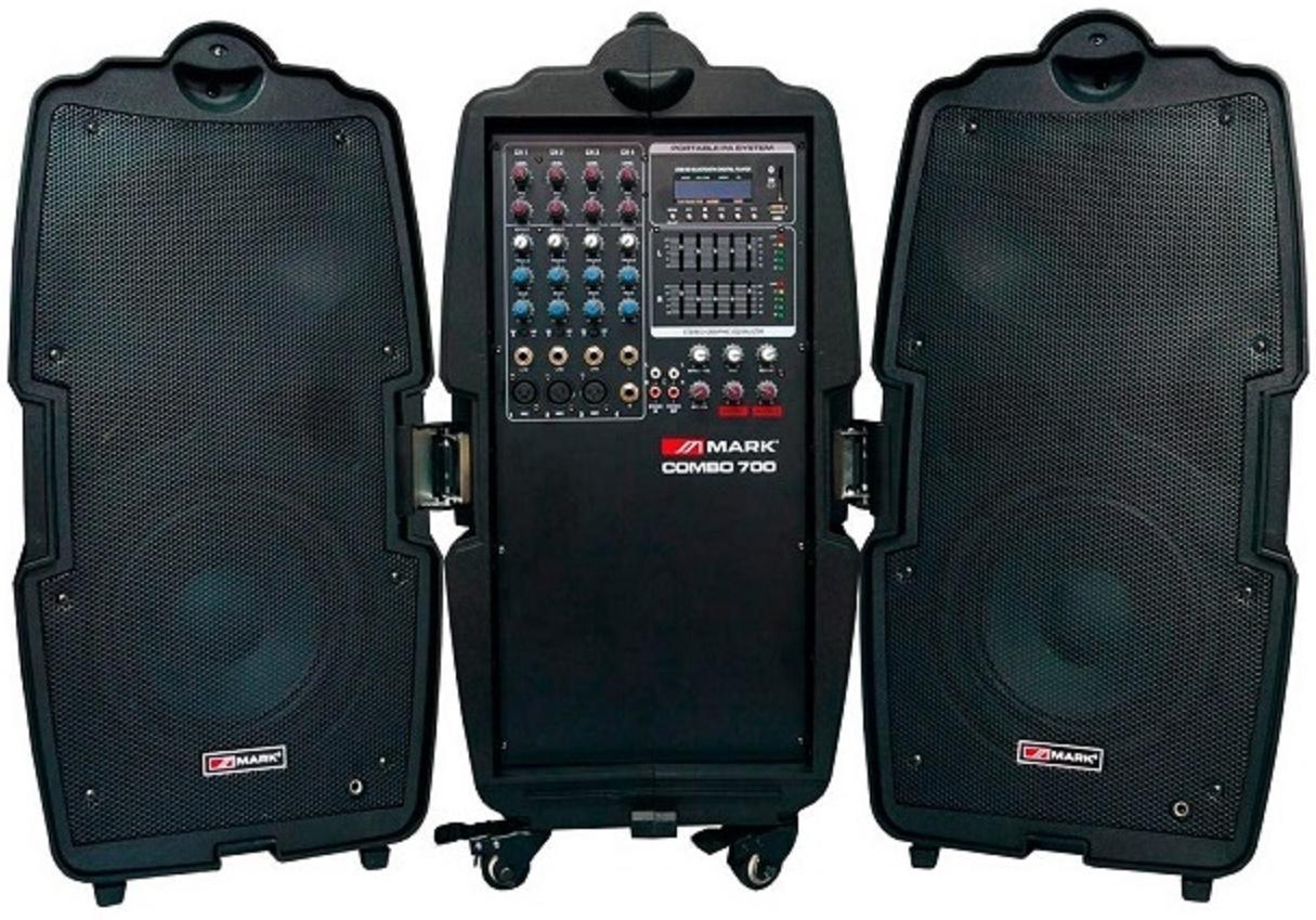 Mark Combo 700 Sistema de Audio Portátil
