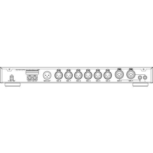 Jts Cs-8 Mezclador Automático de Micrófonos [1]