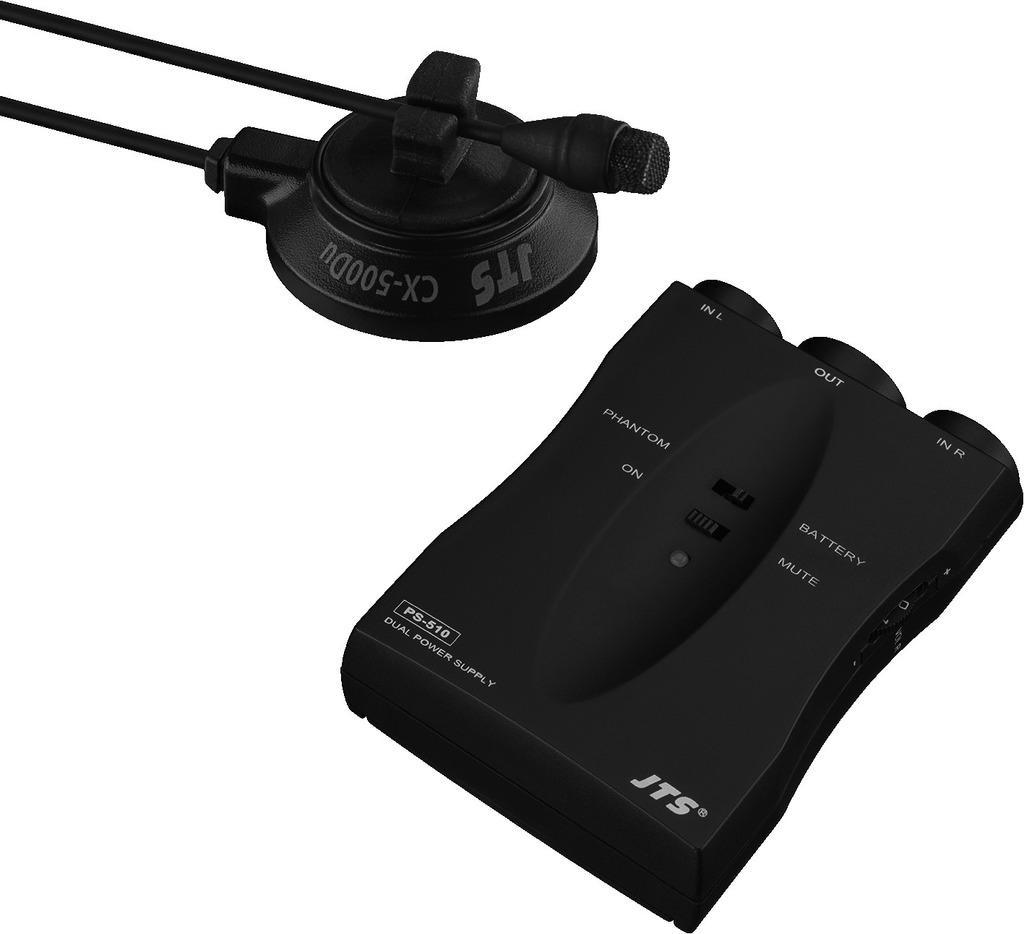 Jts Cx-500DuSet Micrófono Electret para Instrumento