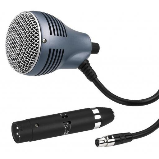 Jts Cx-520 Micrófono Dinámico para Harmónica [0]