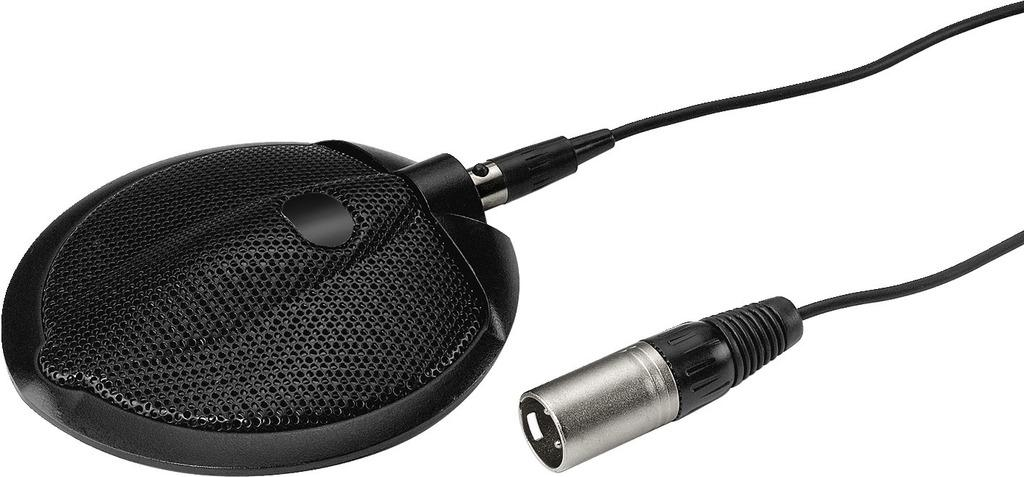 Stage Line Ecm-302B Micrófono de superficie