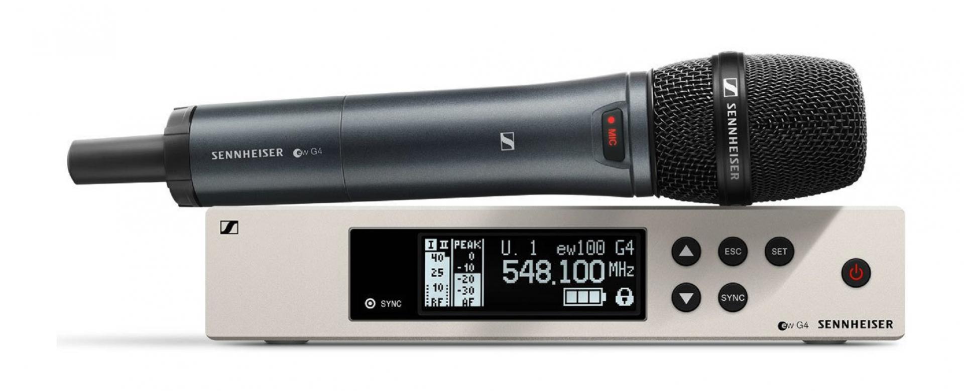 Sennheiser Ew 100 G4-945S Sistema inalámbrico de Mano