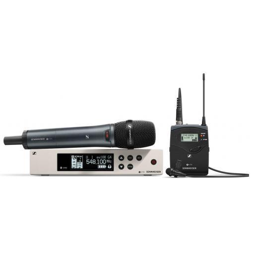 Sennheiser Ew 100 G4-Me2/835-S Sistema Inalámbrico con Petaca y Micro de Mano [0]
