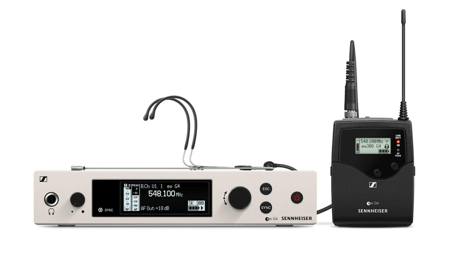 Sennheiser Ew 300 G4 Headmic 1-Rc Sistema Inalámbrico de Diadema
