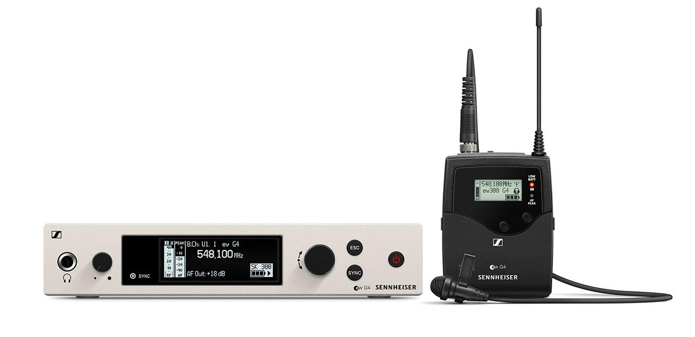 Sennheiser Ew 300 G4 Me2-Rc Sistema Inalámbrico de Corbata