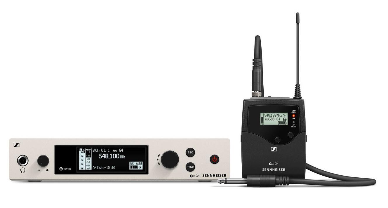 Sennheiser Ew 500 G4-Ci1 Sistema Inalámbrico de Petaca para Instrumento