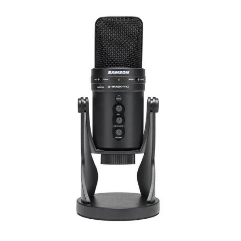 Samson Usb G-Track Pro Micrófono de Condensador con Usb