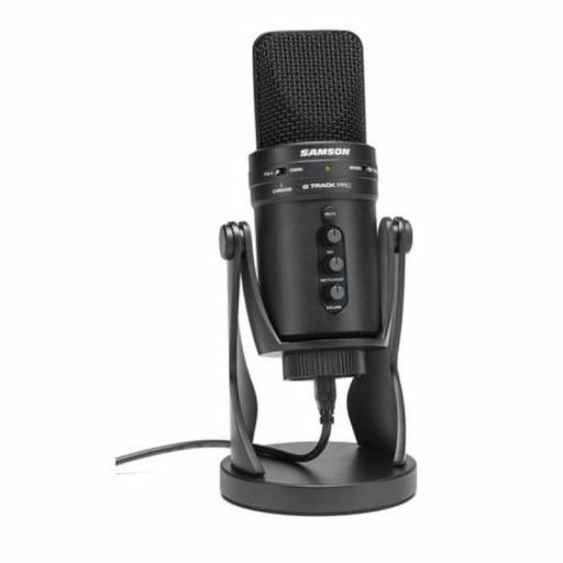 Samson Usb G-Track Pro Micrófono de Condensador con Usb [1]