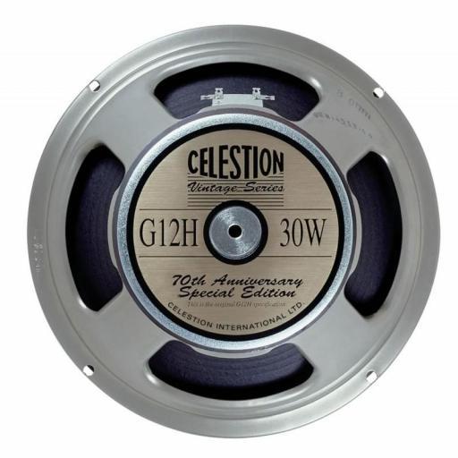 "Celestion G12H Anniversary 8 Ohms Altavoz 12"" para Amplificador de Guitarra"