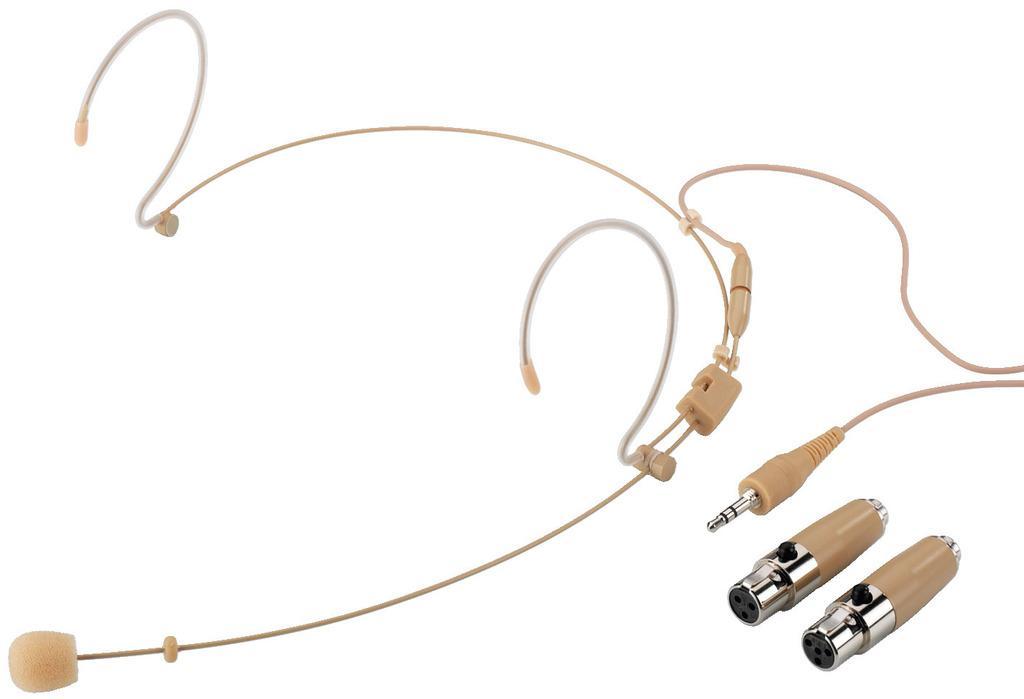 Stage Line Hse-150A/Sk Micrófono de Diadema