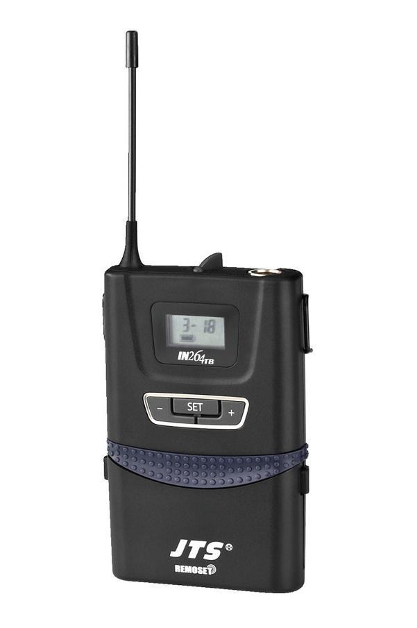 Jts In-264Tb/5 Emisor Inalámbrico de Petaca