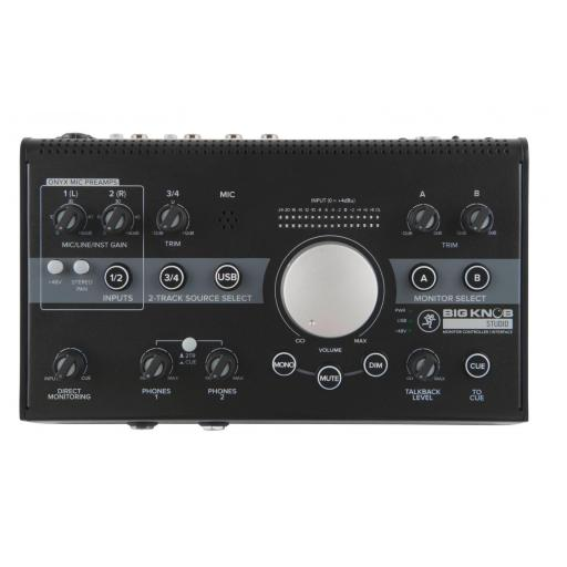 Mackie Big Knob Studio Controlador de Monitores de Estudio
