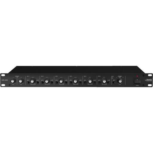 Stage Line Lms-808 Mezclador/Distribuidor de Línea/Micrófono [0]